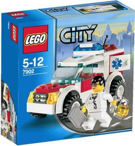 LEGO CITY 7902 - COCHE DE MEDICO