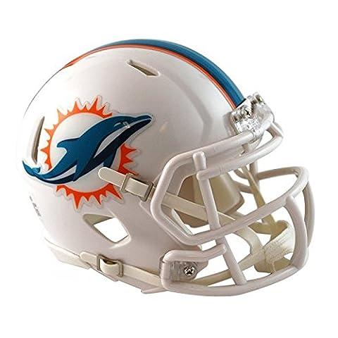 NFL Miami Dolphins Official Mini Replica Helmet - 13cm High