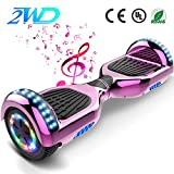 2WD Hoverboard Scooter eléctrico Patinetes eléctricos Self-Balanced Scooter...
