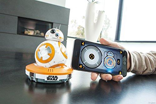 51bhZriRsML - Sphero - Robot electrónico droide BB-8 Star Wars (R001ROW)