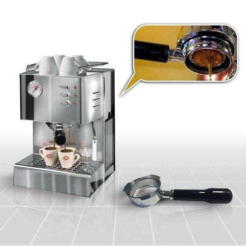 Espressomaschine Quick Mill Cassiopea 03004 Special mit Bodenloser Siebträger und Standard...