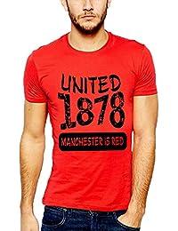 642 Stitches Men's Cotton Manchester United Basic T-Shirt