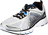 Fila Men's Threshold 3 Metallic Silver, Black and Prince Blue Running Shoes - 9 UK/India (43 EU)