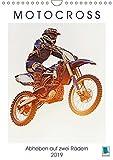 Motocross: Abheben auf zwei Rädern (Wandkalender 2019 DIN A4 hoch): Über Stock und Stein: Motorrad fahren im Gelände (Monatskalender, 14 Seiten ) (CALVENDO Sport)
