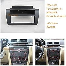 autostereo 11–080–Radio de coche para radio de coche para Mazda 32004–2008Axela 2006–2008wpocket Marco de Instalación de radio de coche kit de montaje Panel de instalación