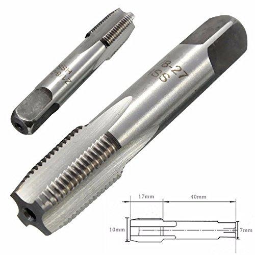 JCHUNL 1/8-27 HSS NPT Taper Pipe Rohrgewindebohrer für Rohre zum Innengewinde New Hot