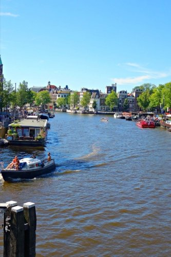 amstel-river-in-amsterdam-netherlands-blank-150-page-lined-journal-for-your-thoughts-ideas-and-inspi