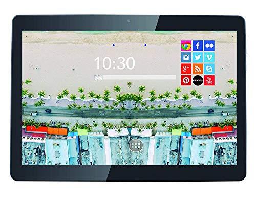 Prixton tablet 10 pollici con wifi, quad core, ram 2gb, memoria interna 16 gb, android 8.1 1800q+