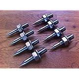 Solid Spikes M8 - Puntas de desacople para altavoces (acero inoxidable)