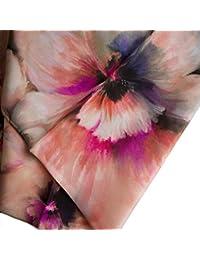 42b9ef754ad2 Ivory Blush Store Blossom Femme foulard en soie Italien