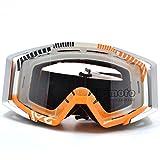 BJ Global Goggles Motorcycle Motocross MX Bike MTB Helmet Eyewear Dirt Bike Off-Road Adult