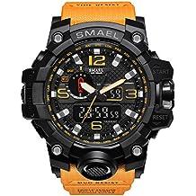 Lightinthebox Hombre Reloj Deportivo Militar Reloj Smart Moda Reloj de Pulsera Reloj Pulsera Digital LED