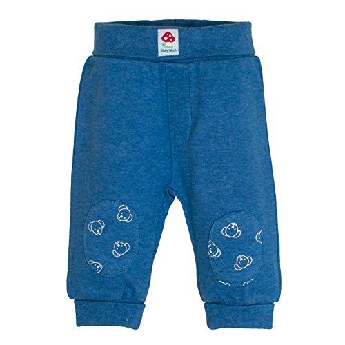 SALT AND PEPPER Baby-Jungen Hose BG Trousers Uni, Blau (Blue Melange 455), 74