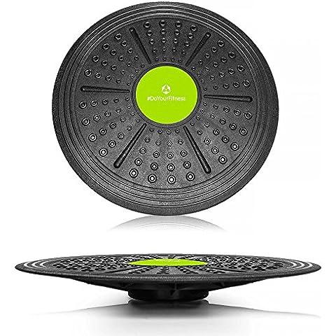 Balance board rotonda »Circulum« / Disco di bilanciamento / Tavola di coordinazione per allenamento sportivo e terapia / 36 cm