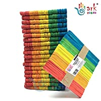 arkCRAFT Multi Coloured Wooden Lollipop Sticks Pk-1000 By ARK