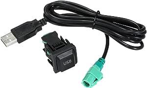 Kkmoon Auto Usb Audio Kabel Adapter Cd Player Radio Kabel Für Vw Volkswagen 130cm Auto