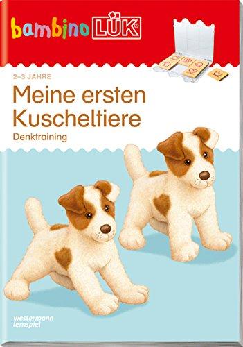 bambinoLÜK-Übungshefte / Kindergarten: bambinoLÜK: 2/3 Jahre: Meine ersten Kuscheltiere