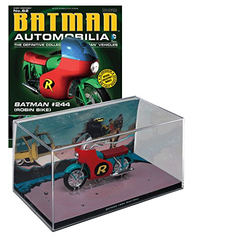 DC Universe Batman Automobilia Collection Batman-Fahrzeuge Nº 62 Batman #244 Robin - Ringe Batman Robin Und