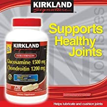 Kirkland Signature – Pastillas de glucosamina 1500 mg/chondroitin ...