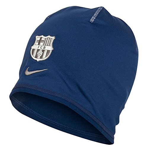 Nike FCB TRAINING BEANIE CRESTED - Berretto, Blu, One size, Unisex