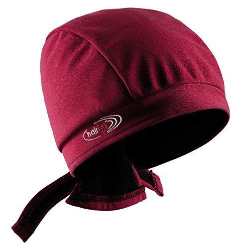 hairtex Stall-Mütze mit Bändern | schützt zuverlässig vor Stallgeruch | für Jede Frisur und Haarlänge geeignet (rot, M)
