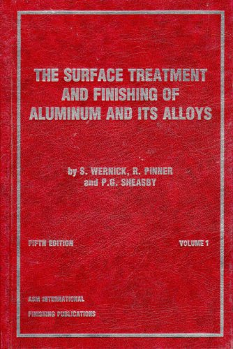 The Surface Treatement and Finishing of Aluminium and its Alloys. 2 volumes