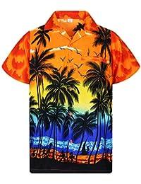 4708815e66f Amazon.fr   Orange - Chemises   T-shirts