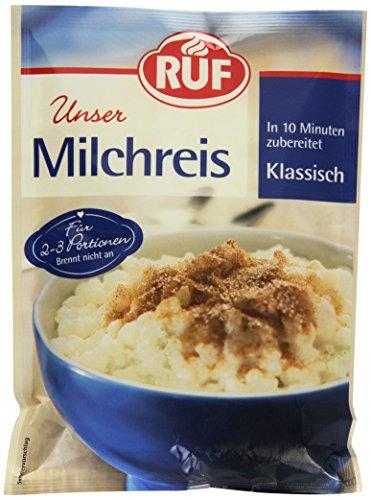 RUF Milchreis Klassisch · in 10 Minuten zubereitet · 125 g Beutel