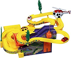 Elektra Track Racer Toy Game Car Racing Ramp Set Battery Operated Musical Kids Games