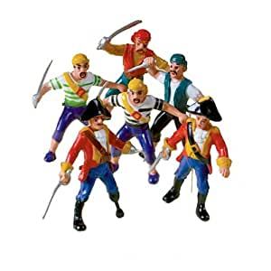 Pirate Party Pirate Figure (six supplied) 39257