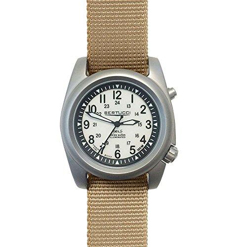 Bertucci a-2sel Ghost Gray orologio | Defender khaki nylon