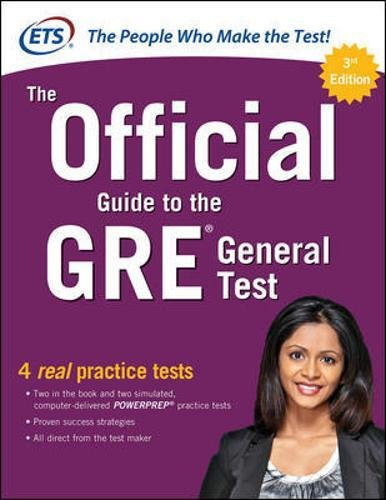 The Official Guide to the GRE General Test, Third Edition por N/A Educational Testing Service