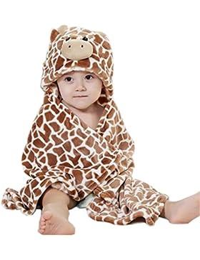DINGANG Baby Mädchen (0-24 Monate) Bademantel braun braun einheitsgröße