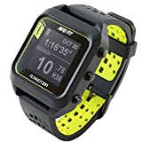 Avid Fit Runner 201 Montre de course à pied GPS Bluetooth - Noir/jaune vif s13