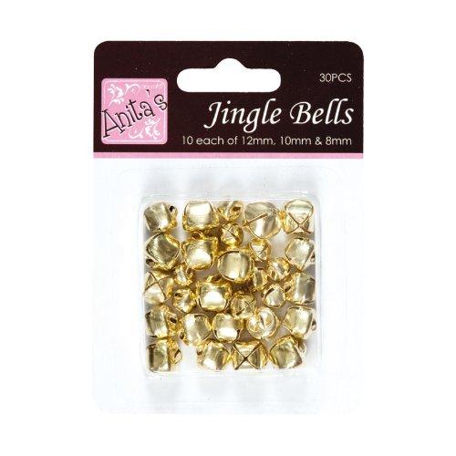Messing Metall Jingle Sleigh Bells Christmas Craft akustischen Charms Geschenk (Sleigh Christmas Bells)
