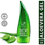 Rivona Naturals Organic & 99% Pure Soothing Aloe Vera Gel For Face, Skin