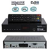 HD-LINE SD-40 Démodulateur satellite FTA Décodeur Péritel / Scart / RCA uniquement chaines gratuites sur ASTRA HOTBIRD TURKSAT NILESAT... - Non compatible TNT française