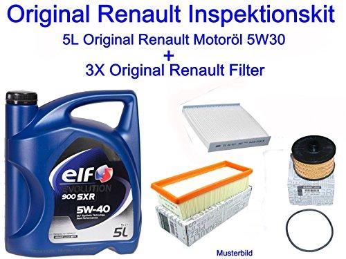 Preisvergleich Produktbild Original Renault Inspektionskit Dacia Logan Sandero Captur Clio IV 0.9 1.2 Tce