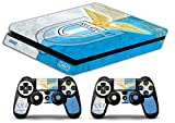 Skin Ps4 SLIM - LAZIO ULTRAS CALCIO - limited edition DECAL COVER Schutzhüllen Faceplates playstation 4 SONY BUNDLE