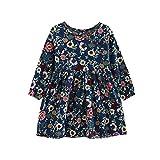 98997316965b3 DAY8 Fille 3 à 11 Ans Vetement Robe Princesse a la mode Hiver Robe de Soirée