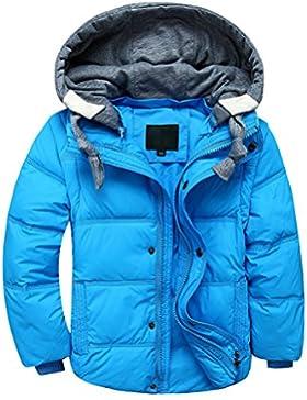 YoungSoul Chaqueta de plumas para niña y niño abrigo con capucha desmontable chalecos sin mangas cazadoras acolchados...