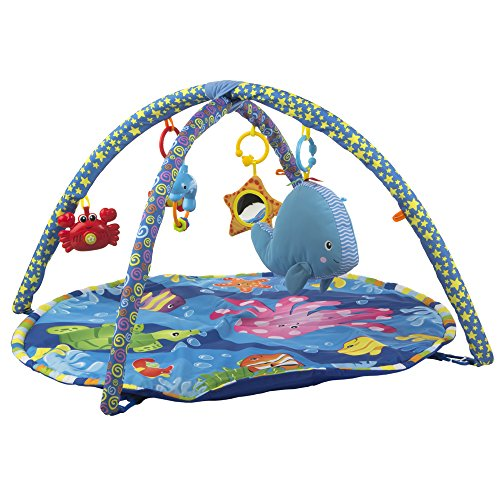 Winfun - Alfombra acolchada multicolor de juegos para bebés (ColorBaby 40310)