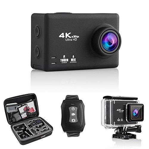 Modohe-Cmara-de-accin-4-K-16-MP-WiFi-impermeable-pantalla-tctil-de-235-pulgadas-cmara-deportiva-170-lente-gran-angular-con-2-bateras-recargables