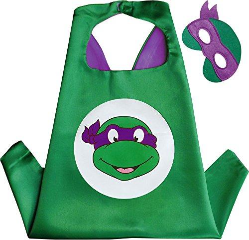 llo Kindes Umhang & Maske (Teenage Mutant Ninja Turtles-kleid)