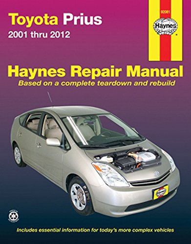 Toyota Prius 2001-12 (Haynes Automotive Repair Manual) por Haynes Publishing