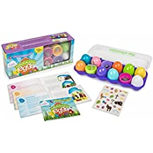 Resurrection Eggs: Open Up the Wonder of Easter [With Egg Carton, 12 Plastic Eggs with Surprises Inside and Bilingual Storybook]