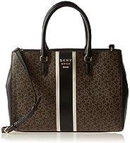 DKNY Womens Tote Bag, Multicolour (Brown/Black) - R94A4A99