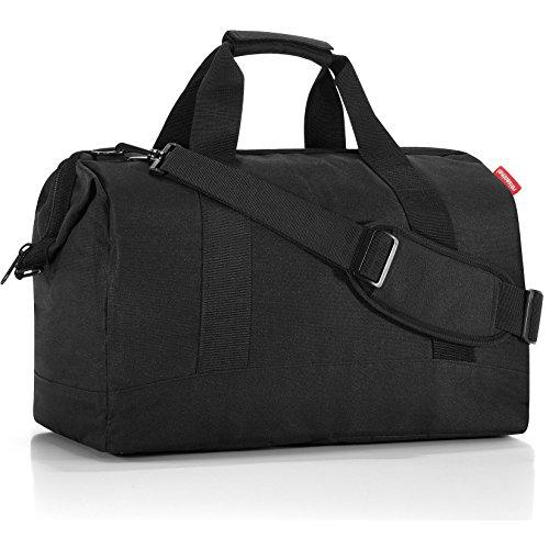 Reisenthel CB0534 Handtasche Allrounder 30 Liter ( 48X39.5X29 cm)L, ruby dots Schwarz