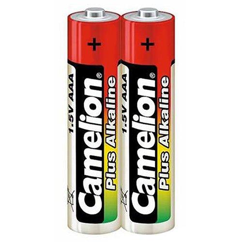 Galleria fotografica Camelion LR03-SP2 Alkaline 1.5V non-rechargeable battery - Non-Rechargeable Batteries (Alkaline, Cylindrical, 1.5 V, 2 pc(s), AAA, 1250 mAh)