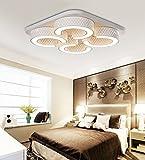 Ameride LED Wandleuchte Deckenleuchte für Kinder US-6817-48WW Weiß 3840Lumen (630x630x100mm) [Energieklasse A++]